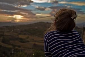 Panorama della collina materana